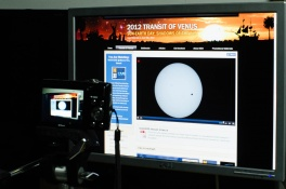Filming the Transit of Venus